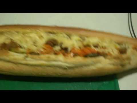 Мини диетический бутерброд)