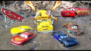 Disney Cars 3 Toys Lightning McQueen Dream Jackson Storm Cruz Ramirez  Vs Miss Fritter