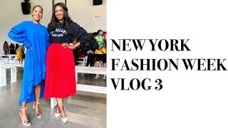 NEW YORK FASHION WEEK VLOG 3 SEPTEMBER 2019 | MONROE STEELE