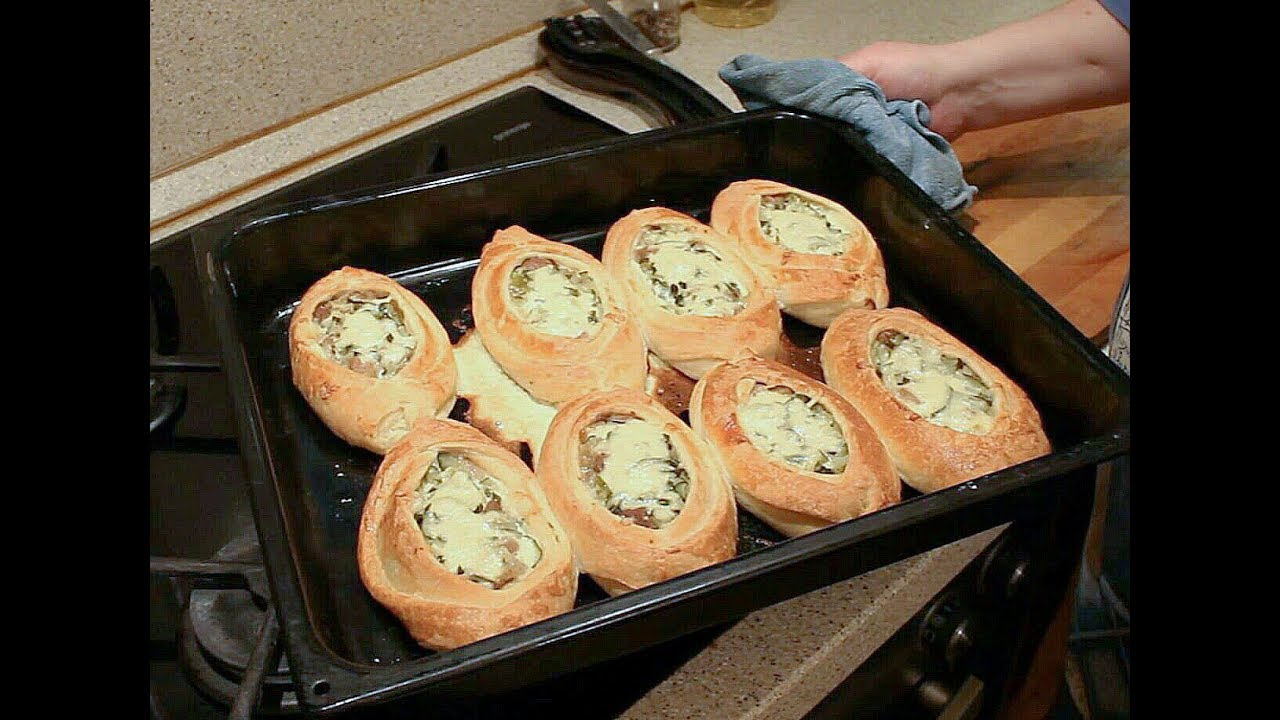 Хачапури с сыром рецепт из слоеного теста 42