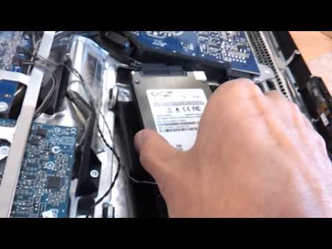 iMac 2008 Aluminum Upgrade Hard Disk to 2.5inch SSD