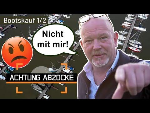 Peter in Aufregung: Bootsverkäufer treibt ein falsches Spiel! | 1/2 | Achtung Abzocke | Kabel Eins