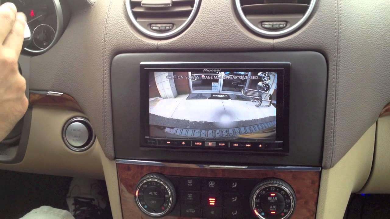 2008 Mercedes Benz Gl450 Custom Installed A Pioneer Avic Z150bh Youtube