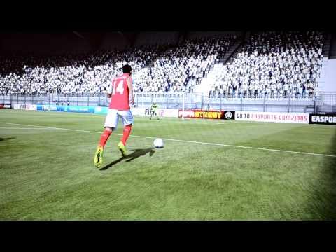 FIFA 12 - Theo Walcott Goal - Arsenal vs. Tottenham