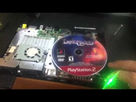 Ps2 slim can't read Ps2 DVD discs