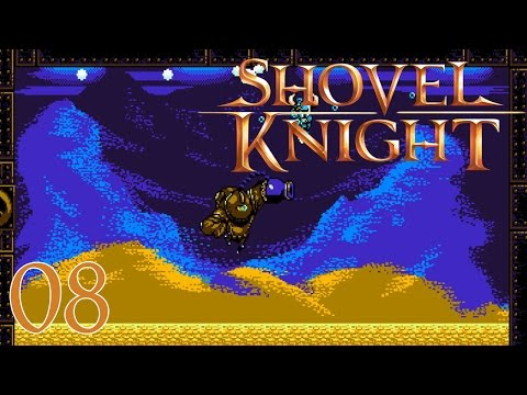 Shovel Knight Walkthrough Part 8 - Treasure Knight