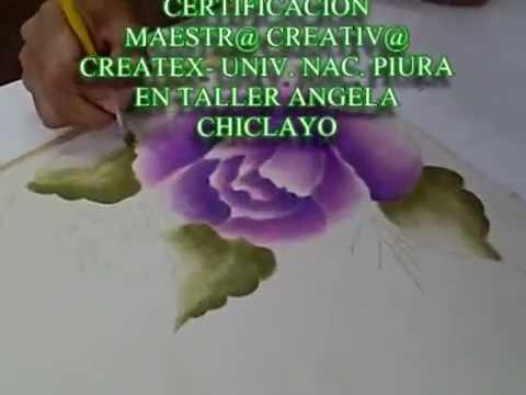 Pintura en tela youtube - Motivos navidenos para pintar en tela ...
