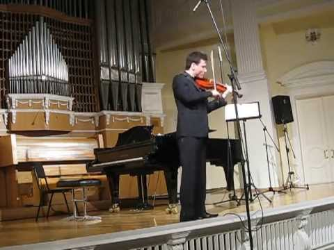 "N. Khashimov | Ysaÿe | Sonata No. 3 ""Ballade"" | 2nd Yankelevitch International Violin Competition"