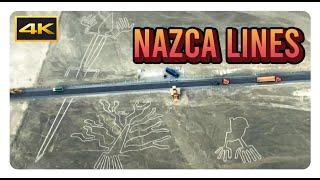 [4K] Líneas de Nasca / Sobrevuelo / Flight - Nasca / Peru - Cinematic   [UHD] [Ultra HD] [2160p]