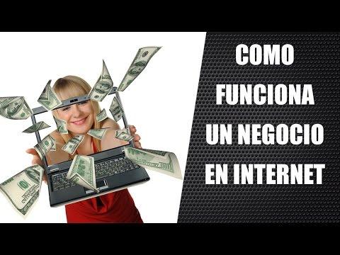 Negocios Por Internet - ¿Como Funciona Un Negocio En Internet?