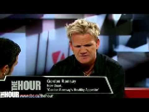 Gordon Ramsay on The Hour with George Stroumboulopoulos