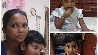 Harshitha abcd learning/Evening Routine in Tamil by Minutes Kitchen