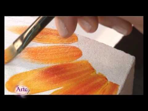Cómo decorar macetas a todo color