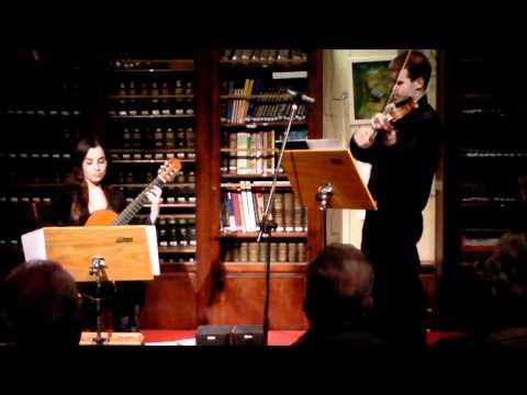 Niccolo Paganini - Centone di Sonate (Sonata I) - Introduzione - Tiempo di marcia
