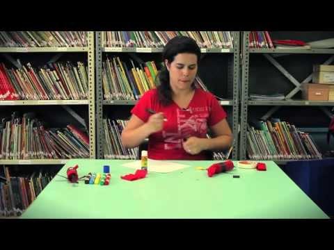 Aprenda a fazer um fantoche de saci