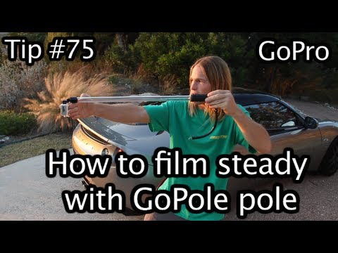 How To Film Steady With Pole - GoPro Tip #75 Part 2