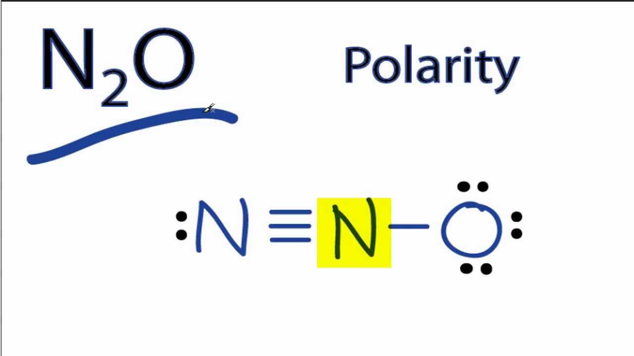 N2o Lewis Structure Is N2O Polar or Nonpolar