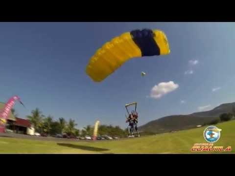 Salto tandem Skydive Cuautla