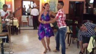 Espectáculo de baile (Dance show) Bar del Hotel Europa (Calle Obispo, Habana Cuba)