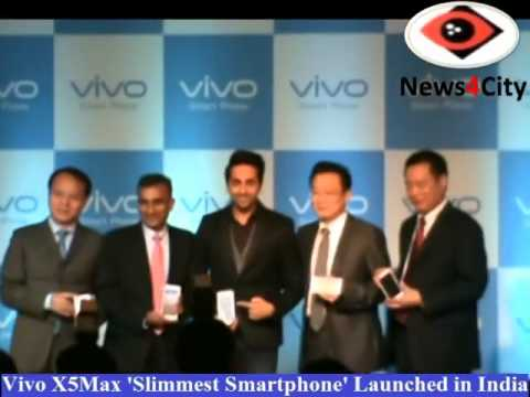 Vivo X5Max 'world's Slimmest Smartphone' Launched in India