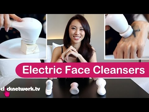 Electric Face Cleansers - Tried and Tested: EP34