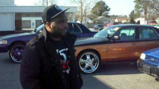 Crown Vic Kings of VA are back!!! Auto Line of Norfolk 3 crown vic's 22