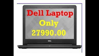 Dell Vostro 3478 Intel Core i3 8th Gen 14-inch Laptop (4GB/1TB HDD/Ubuntu/Black/2.25kg)