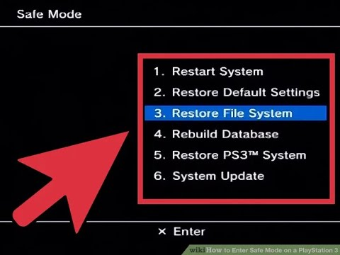 Playstation 3 Recovery Mode Tutorial (Fix your PS3's Errors and Corrupted System Files Today!)