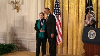 President Obama Honors the Country's Top Innovators and Scientists of 2011.  2/13/13