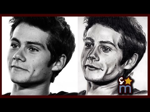Dylan O'Brien Drawing