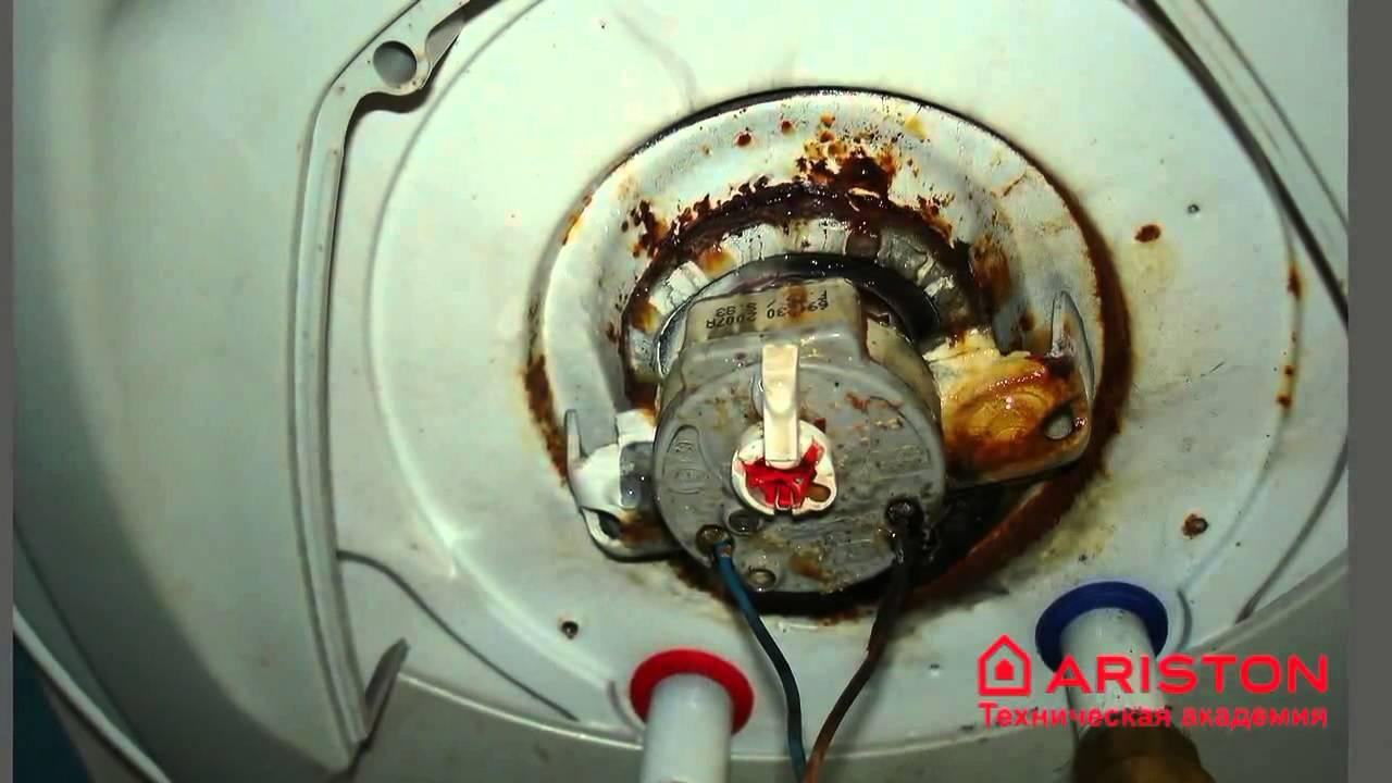 Ремонт накопительных водонагревателей своими руками