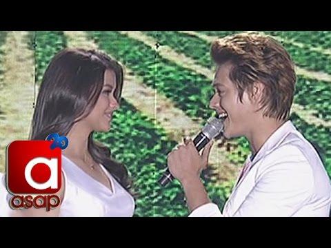 Liza Soberano, Enrique Gil sing