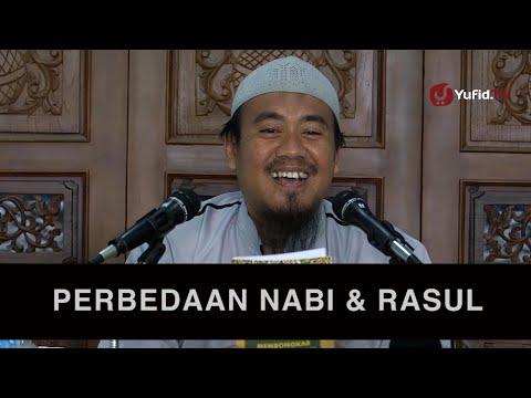 Ceramah Tauhid: Perbedaan Nabi dan Rasul - Ustadz Abu Isa