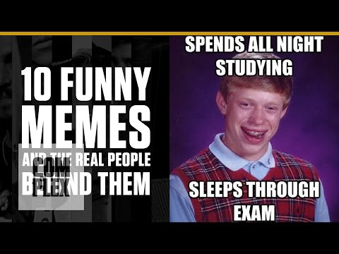10 Funny Memes & The Real People Behind Them | Complex