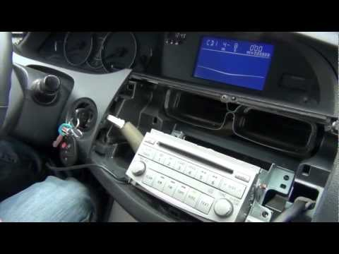 GTA Car Kits - Toyota Avalon 2005-2011 iPod. iPhone and AUX adapter installation