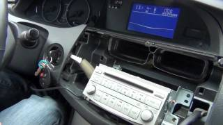 GTA Car Kits - Toyota Avalon 2005-2011 iPod, iPhone and AUX adapter installation