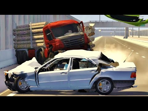 BeamNG Drive HIGH SPEED CRASHES #55