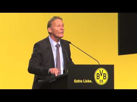 Drohung an die Spieler? Hans-Joachim Watzke