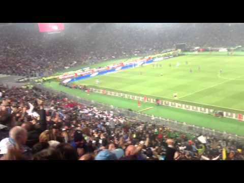 Fiorentina-Napoli 1-3  17' gol insigne