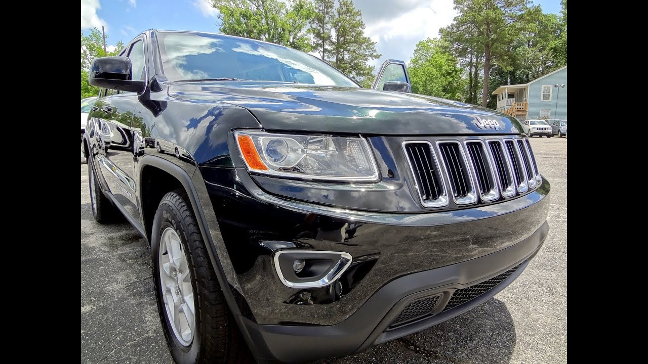 Black Jeep Cherokee >> 2014 JEEP GRAND CHEROKEE LAREDO - Black Forest Green ...