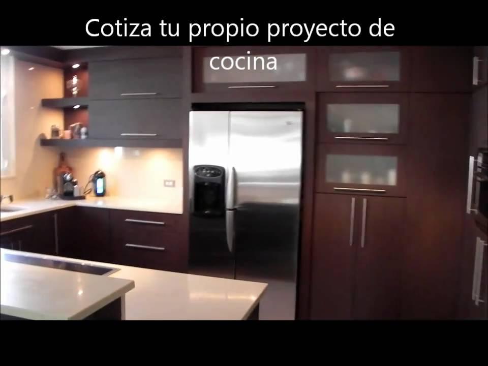 Gabinetes de cocina youtube for Gabinetes cocina modernos
