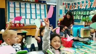 Art with Kindergarten - HENRI MATISSE inspired Christmas trees