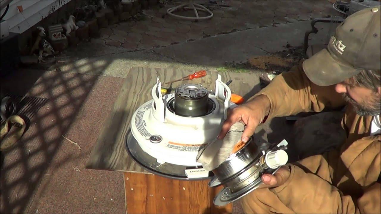 Kerosene Heater Wick Replace Youtube