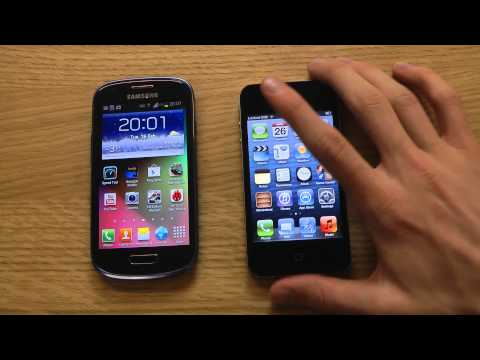 Samsung Galaxy S3 Mini vs. Apple iPhone 4 - Review
