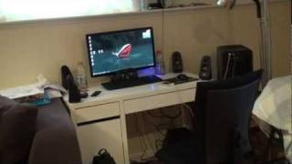 Gaming Setup Xbox 360 & PC 2011