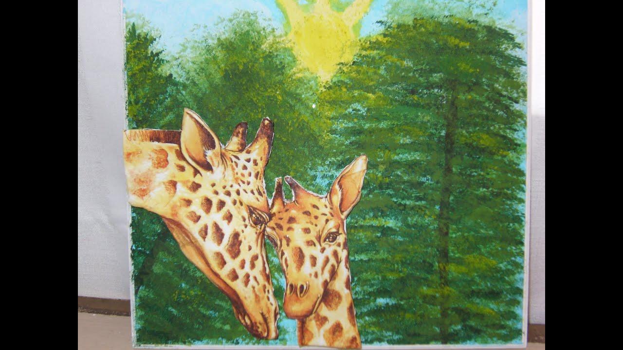 C mo hacer este bello cuadro con pintura en madera y - Ideas para pintar cuadros ...