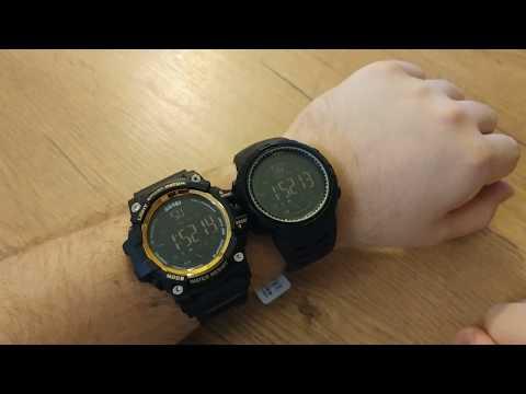 SKMEI 1250 vs. SKMEI 1227 comparison unboxing / review (Marvelous Watches)