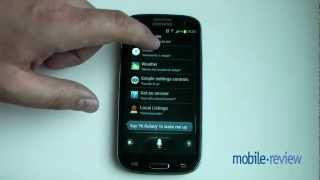 Samsung Galaxy S3 - S Voice