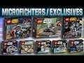 LEGO Star Wars 2014 : Microfighters Exclusive Sets - FULL Analysis!