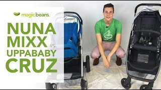 Nuna Mixx vs UPPAbaby Cruz | Best | Most Popular Strollers | Comparison | Reviews | Prices